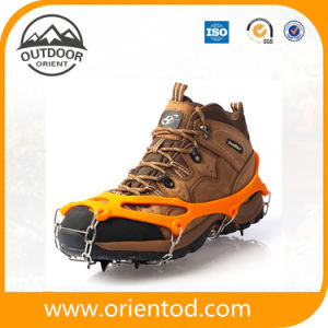 Chain Spike Ice Snow Pad Mountaintop Outdoor Ice Climbing Shoe Crampons pictures & photos