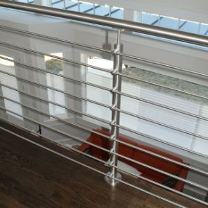 304 316 Stainless Steel 8mm Rod Balcony Stair Railing pictures & photos