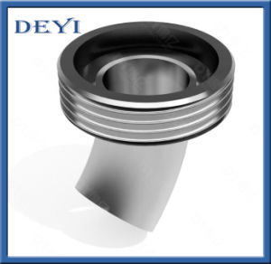 Sanitary Stainless Steel Hygienic 45degree Welding- Male Thread Pipe Elbow (DY-E024) pictures & photos
