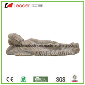 Polyesin Buddha Statue Figurine with Candle Holder for Home and Garden Decoration pictures & photos