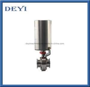 DIN50 Male Butterfly Valve with Double-Acting Actuator At100 pictures & photos