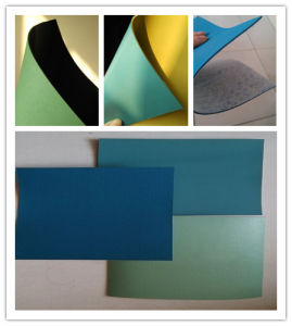 Single Layer Blue PVC Geomembrane 1.5 mm Pond Liner pictures & photos