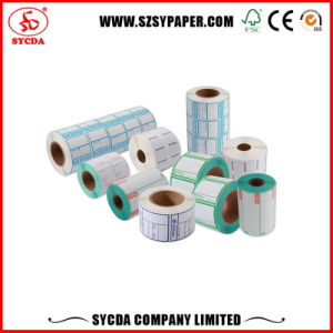 40mm*30mm Roll Thermal Self Adhesive Sticker pictures & photos