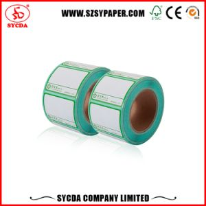 Digital Printing Thermal Self Adhesive Label Paper with Coated pictures & photos
