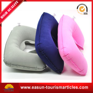 Camping Inflatable Headrest Neck Pillow pictures & photos