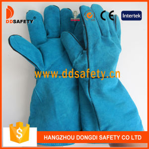 Ddsafety 2017 Red Cow Split Welder Gloves pictures & photos