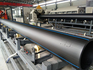 Plastic PE Pipe Production Line Extruder pictures & photos