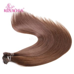 Brazilian Virgin Remy I-Tip Stick Human Hair Extension pictures & photos