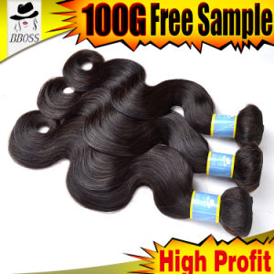 Real Human Hair, 10A Brazilian Hair Extension pictures & photos