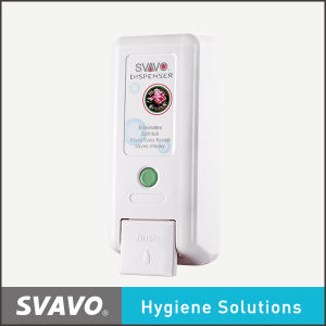 Plastic Wall Mount Manual Soap Dispenser (V-2101)