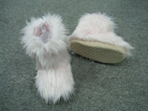 Long Hair Fleece Boots/Warm Winter Boots for Women