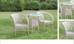 Patio Garden PE Rattan Chair Set pictures & photos