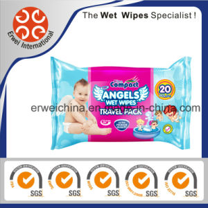 Baby Wipes with Aloe Vero, Travel Pack pictures & photos