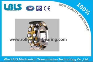 3214 Bearing Steel Brass Cage Double Row Angular Contact Ball Bearing P5 Precision China pictures & photos