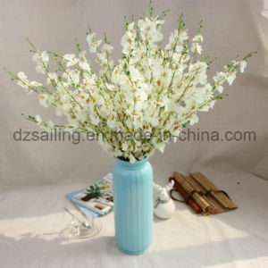 Cheap Dancing Orchid Artificial Flower for Wedding/Home Decoration (SW02612)