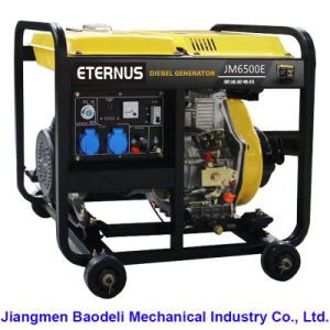 Easy Move Diesel Generator Set (BM6500XE) pictures & photos