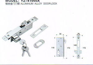Yz-41055A Aluminium Alloy Dooe Lock pictures & photos