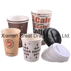 1.5-32 Ounce Hot Beverage Paper Cups and Lids (PC11009) pictures & photos