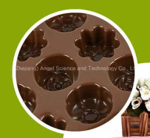 Ice Chocolate Mold 15-Cavity Silicone Ice Cube Tray Si09 pictures & photos