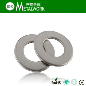 SS304 SS316 Stainless Steel Flat Washer (DIN125, DIN9021) pictures & photos