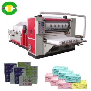 Best Quility 6 Line Counting Face Paper Machine Paper Facial Tissue Cutting Machine pictures & photos