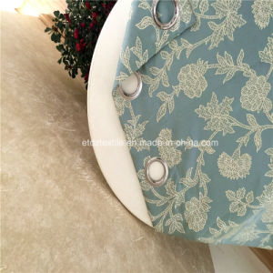 European Popular Flower Pattern Jacquard Curtain Fabric pictures & photos