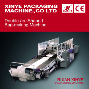 Double-Arc Shaped Bag Making Machine PA/PE/600 pictures & photos