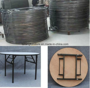 Cheap High Quality Professional Banquet Table Round Used pictures & photos