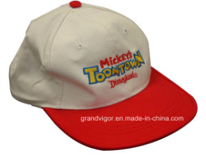 Children Cotton Snapback Hat with Cartoon Embroidery Logo pictures & photos