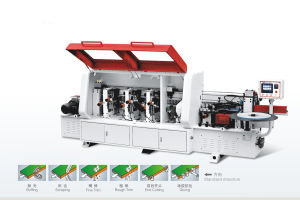 Edge Banding Machine for MDF Board Made in China pictures & photos