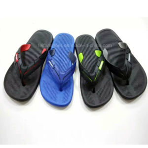 New Style Comfortable Men′s EVA Sandals Flip Flops Slipper (FY151022-14) pictures & photos