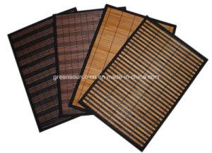 Bamboo Dinner Mat / Bamboo Placemat pictures & photos