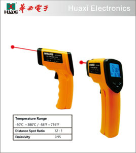 Infrared Digital Thermometer Gun with Laser for Kitchen Use pictures & photos