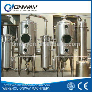 High Efficient Factory Price Stainless Steel Industrial Fruit Juice Concentrator Vacuum Water Distillation Plant pictures & photos