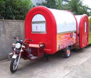 Battery Motor Food Cart; Vending Cart; Hot Dog Cart