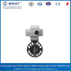 UPVC Electric Butterfly Valve pictures & photos