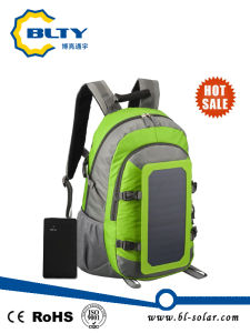 Solar Charger Backpack with 6.5W 6V Solar Panel pictures & photos