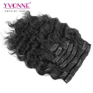 Brazilian Virgin Hair Extensions Clip in Human Hair pictures & photos