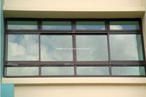 External Powder Coat Best Price Double Glass Aluminium Windows pictures & photos