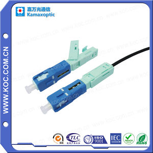 Fast Connector Optical Fiber for FTTH Connection pictures & photos