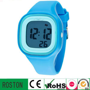 Digital Silicone Spprt Watch pictures & photos