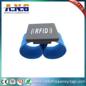 New Design Contactless RFID Silicone Slap Bracelet pictures & photos