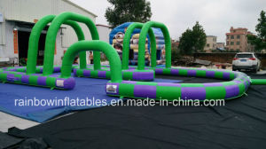Hot Sell Customized Size Inflatable Go Kart Track Inflatable Race Track for Sale pictures & photos