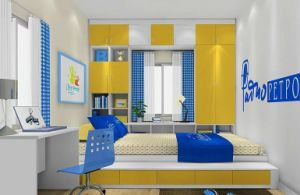 E0 Children′s Bedroom White Wardrobe