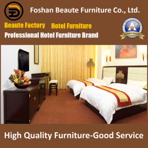 Hotel Furniture/Luxury Double Bedroom Furniture/Standard Hotel Double Bedroom Suite/Double Hospitality Guest Room Furniture (GLB-0109877) pictures & photos