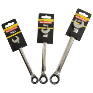 6PCS Combination Gear Wrench Set (JD800) pictures & photos