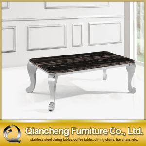 Hot Selling Classical Style Stainless Steel Coffee Table pictures & photos