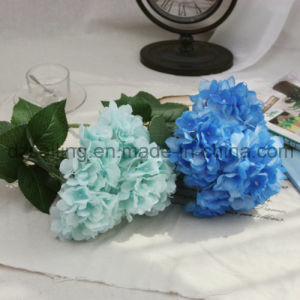 12 Colors Artificial Hydrangea Bouquet Flower for Decoration (SW14402) pictures & photos