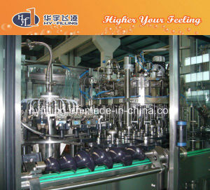 Glass Bottle Orange Juice Filling Machine pictures & photos