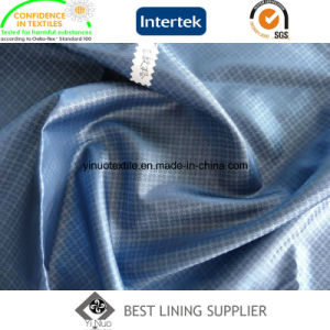 Men′s Casual Wear Lining 100 Polyester Jacquard Lining Fabric Factory Price pictures & photos